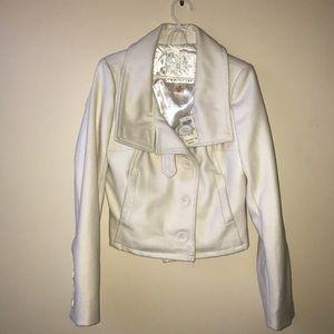 Arden B Wool button up jacket